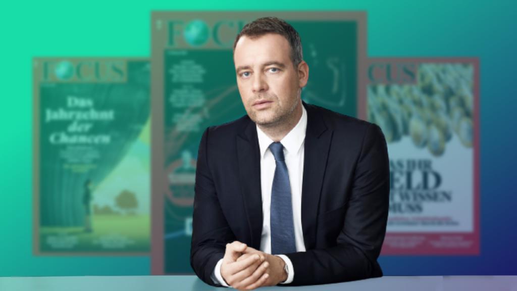 Robert Schneider, Chefredakteur FOCUS Magazin. Foto: Medieninsider/Christian Schoppe/Hubert Burda Media